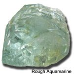 rough aquamarine