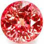 orange sapphire gemstone